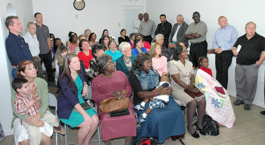 First Sunday at Marrero Mission