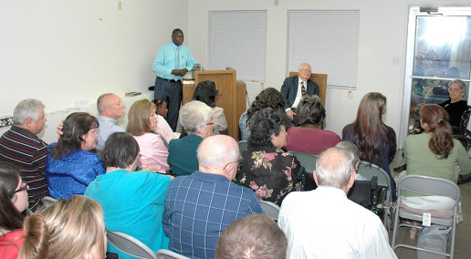 Pastor and Bro. Freddie at Marrero Mission
